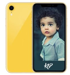 Argentina ERQIYU Goophone XR Xs max celulares Touch ID Pantalla completa Dual Sim MTK6592 Octa Core mostrado 4G LTE 128GB Smartphones supplier android touch screen cell phones Suministro