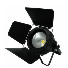 Wholesale Mastering Sound - LED Par COB 100W With Barn Doors High Power Aluminium Case Stage Lighting with 100W COB ,cool white and warm white