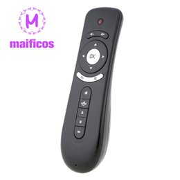 беспроводной google tv Скидка T2 Fly Air Mouse Remote Control 2.4 GHz беспроводной 3D гироскоп Motion Stick для 3D Sense Game ПК Android TV Box Google er