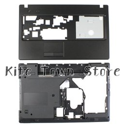 """Wholesale Hdmi Cover - NEW For Lenovo G570 G575 Bottom Base Cover Case & Palmrest Upper Case """"HDMI"""" Combo Free Shipping"""