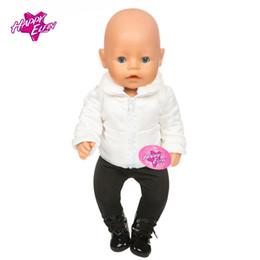2019 nouvelle poupée née NOUVEAU 11 Vente Chaude Doll Vêtements Costume Fit 43 cm Zapf Bébé Born Doll Warm + Pantalons et accessoires enfants meilleur cadeau promotion nouvelle poupée née