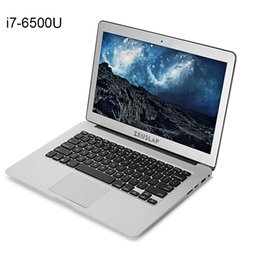 Wholesale Computer I7 - 13.3 inch Windows 10 Intel Core i7-6500U 8GB RAM+128GB SSD 1920x1080p ips screen Sliver Color Fast Boot Laptop Notebook Computer