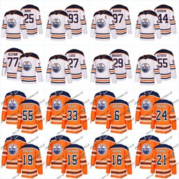 Wholesale Red Nurse - 100th Edmonton Oilers 97 Connor McDavid 33 Cam Talbot 29 Leon Draisaitl 44 Zack Kassian 27 Milan Lucic 25 Darnall Nurse Hockey Jersey