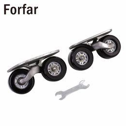 Wholesale drift skate board - Forfar 1Pair Portable Drift Board For Freeline Roller Road Driftboard Skates Anti-skid Skate board Skateboard Sports