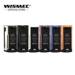 Canada [Boutique officielle] WISMEC Reuleaux RX GEN3 Mods double vape 230W Sortie avec grand écran 1,3 pouces batterie 18650 Boîte à cigarette électronique Offre