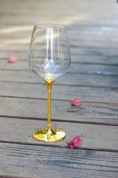 copas de vino de tallo Rebajas Cristal de boda 518 ml vasos de vino para beber con tallo chapado en oro vasos de vino de cristal de color champán