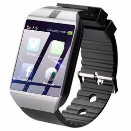 2019 iphone 2g Bluetooth Smart Watch Montre Smartwatch DZ09 Android Appel Téléphonique Relogio 2G GSM Carte SIM TF Caméra pour iPhone Samsung HUAWEI iphone 2g pas cher