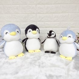 doll 23cm 2018 - Soft 23cm Penguin Plush Toy Stuffed Animated Animal Kid Doll children Gift