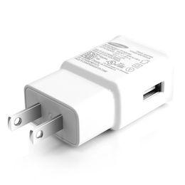 Зарядное устройство для 5v 2a usb онлайн-5 В 2A USB Настенное Быстрое Зарядное Устройство Turbo Адаптер Зарядки 2A ЕС США Plug Для Samsung Galaxy S7 Edge S8 Plus Note8 Быстрый Кабель 100 шт.