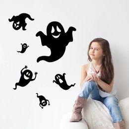 Canada Halloween enfants maison chambre arrière-plan autocollant mural imperméable à l'eau peut se déplacer sauf Offre