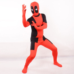 2019 traje de flash cosplay Venda Flash adulto deadpool traje do dia das bruxas cosplay Spandex bodysuit traje de flash cosplay barato