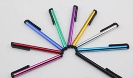 Wholesale Touch Pens For Iphone - Capacitive Stylus Pen Touch Screen Pen For ipad Phone  iPhone Samsung  Tablet PC DHL Free Shipping