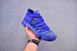 Wholesale Heat Cream - Newest arrival kevin Durant KD10 IX USA Pre-Heat Cool Grey men basketball kd 9 Oreo Zero Elite sports shoes mens kds sneakers