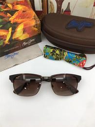 Créateur de mode Maui Jim lunettes de soleil 257 ultra léger demi-cadre  extérieur lentille polarisée sport lunettes de soleil classique style  simple avec ... 7eb58abe84f4
