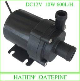 Wholesale 12v Water - New Mini Water Pump 12V 24V DC Solar Fountain Pump 600L H Flow Max Can be Used Submersible and Land Type