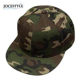 Wholesale Camo Snapbacks - Brand New Camouflage Snapback Adjustable Hats Camo Baseball Caps Hip-Hop Cap Fashion Baseball Backstrap Cap Hat For Men Women