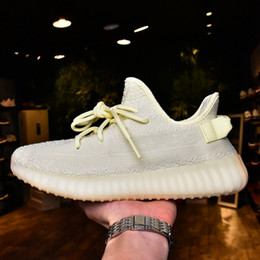 Wholesale Icing Shoes - Shop Sply 350 Boost V2 Running Shoes online Blue Tint Butter Ice Yellow Zebra,Find news 2018 Boost 350 v2 Men Women