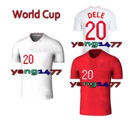 Wholesale Quick Match - 2018 World Cup Soccer Jerseys Home Away KANE ROONEY RASHFORD WALKER DIER VARDY LINGARD AWAY DELE BARKLEY JERSEY MATCH TRAINING SHIRT