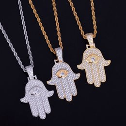 Shop mens hand gold jewelry uk mens hand gold jewelry free hand with eye pendant gold chain hip hop jewelry designer jewelry choker iced out chains mens statement necklaces mens gold pendant aloadofball Choice Image