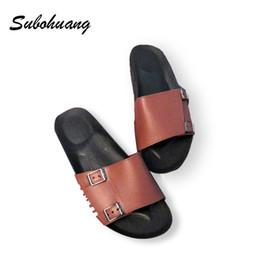 Wholesale womens elegant heels - 3 Color Orange White Balck Soft Brand Slippers Women Flat Heel Summer Shoes 2017 Fashion Womens Sandals Elegant Beach Slippers