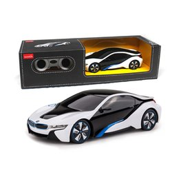 Wholesale Classic Car Years - Licensed 1 :24 Rc Mini Cars Electric Remote Control Toys 4ch Radio Controlled Cars Classic Toys For Boys Girls Kid Gift I8 48400