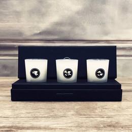 Bougies de cadeau VIP avec logo 3pcs une bougie de petite taille avec boîte-cadeau ? partir de fabricateur