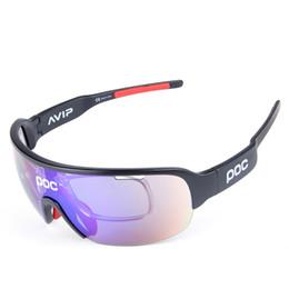 Wholesale wind goggles - High Quality Semi-Rimless Sunglasses Hot Polarized Sports Eyewear UV400 Men Sun Glasses Women Wind Proof Cycling Sunglasses with 5 Lens