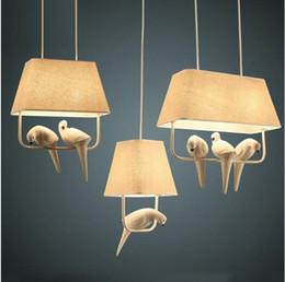 lampe suspension cage oiseau Promotion SVITZ primitif Amérique latine café lustre lumière Loft café millésime cage à oiseaux pendentif lampe chambre Bar cuisine pendentif lumières