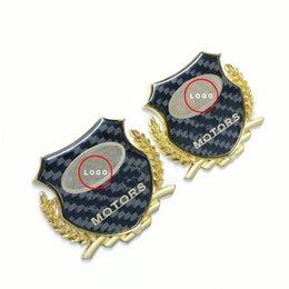 Wholesale jeep cherokee stickers - FOR JEEP Cherokee Wrangler Compass Patriot 3D metal side window sticker rear sideways emblem shield badge