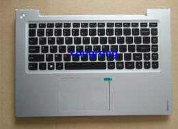 wc cover Rebajas Portátil original, EE. UU., Cubierta para teclado, PalmresUpper, carcasa / tapa para Lenovo IdeaPad U430P U430 C, cubierta con panel táctil