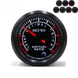 Универсальный гоночный автомобиль онлайн-Sinco tech PM motor Air fuel Race Car манометры DO634 - 8 указатель метр; 52 мм автомобиль универсальный 7-цветной светодиодный указатель датчика