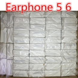 Wholesale Ear Phones Package - Earphone With packaging Genuine Original Quality headset in ear headphones earphone With Remote Mic Control for 3.5mm jack phone 5 6 6s plus