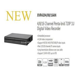 Wholesale dvr channels dahua - DAHUA NEW Product 4 8 16 Channel Penta-brid 720P 1U Digital Video Recorder Without Logo XVR4204AN XVR4208AN XVR4216AN