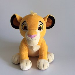 Wholesale Lion Plush - New high quality cute 1pcs sit 26 cm high, lion king plush toys, simba stuffed toys for children gifts