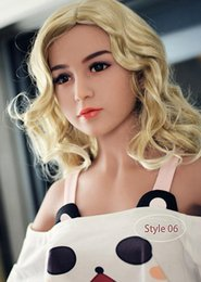 Wholesale Chest Sex - 140cm full silicone sex dolls real adult life size lifelike vagina breasts male masturbation adult doll big chest tpe love dolls