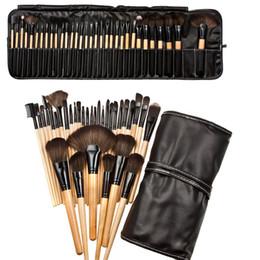 PU tasche 32 Stücke Set Professionelle Make-Up Pinsel Foundation Lidschatten Lippenstifte Pulver Bilden Pinsel Werkzeuge beste qualität können logo drucken von Fabrikanten