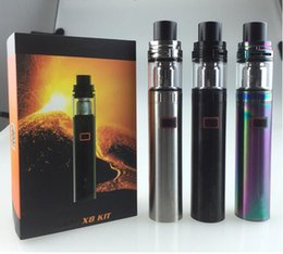 Wholesale Multi Outlets - e-cigarette stick X8 Built-in 1650mah 0.3ohm USB Direct Charging Beginner Smoke Set Factory Outlet