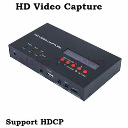 Wholesale Video Capture Recorder - 2016 eZcap283 YPbPr Recorder Box With Scheduled Recording 1080P HDMI Game Capture for XBOX One 360 PS3 HD Video Capture