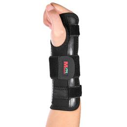 pulseiras de algodão preto Desconto Mumian Exercícios De Treinamento Pulseira Respirável Absorver O Suor De Alumínio Tira Pulso Wraps Bandage Mão Brace Strap Proteger A Mão