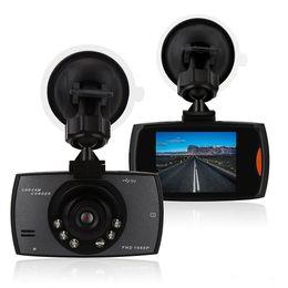 """бокс в прямом эфире Скидка Новая автомобильная камера G30 2.4 """"Full HD 1080P Автомобильный видеорегистратор Видеорегистратор Dash Cam 120 градусов Широкоугольный детектор движения G-Sensor ночного видения"""