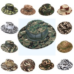 93c5388c0e3 hunt winter hats Promo Codes - Camo Hat Outdoor Men s Hunting Mesh Suns Hat  Camouflage Fishing