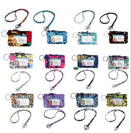 Wholesale Credit Card Holder Lanyard - VB Cotton Zip Case with Lanyard ID Card Holder Credit Card Bus Card Case