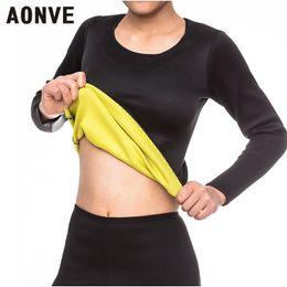dac1ef5e8787b AONVE Men Hot Body Shapers Man Waist Trainer Slimming Vest Shirt Ultra  Sweat Neoprene Shaper Belly Tummy Slim Fajas Tops Thermo