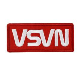 """Швейные логотипы онлайн-3.5 """" красный белый НАСА площади вышитые логотип миссии операции патч пространство железа на шить на аппликация значок для одежды"""
