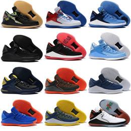 976e6641bd3b Bottes de basketball Caroline du Nord bleu Noir Rouge Jaune Sneaker US 7-12  chaussures carolina pas cher