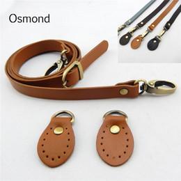 2ad423d375 Cinghie a tracolla regolabili lunghe della cinghia di cuoio spaccate 120cm  per le borse di ricambio dell'hardware del sacchetto del crossbody di DIY