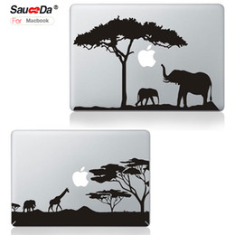 Wholesale Macbook Air Stickers - sauceda Laptop Skin Sticker Decal for MacBook pro 13 Cartoon replace protection cover for Macbook Air Pro Retina 13.3 black