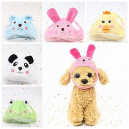 Wholesale cheap cute dogs - Cute Dog Hat Animal Shape Dog Cap Cheap Pet Accessories Caps For Dogs Hats Pets Products Funny Cosplay Pet Dog Hat CCA10137 60pcs