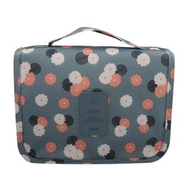 Portable Travel Makeup Cosmetic Bag Waterproof Travel Kit Toiletry Bag  Bathroom Organizer Carry On Case Organizer Cosmetic 0e65ed75b783d