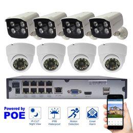 2019 câmeras 2mp Sistema de Segurança 8CH 1080 P Ao Ar Livre Indoor IP Câmera CCTV Sistema de Câmera HDMI 2MP Sistema de Vigilância Vista Remota desconto câmeras 2mp